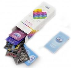 【计生用品】 名流 激情六合一 24只避孕套
