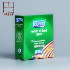 【计生用品】杜蕾斯螺纹避孕套
