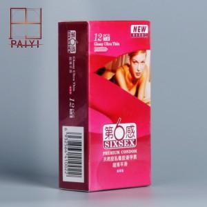 【计生用品】第六感超薄平滑12只装避孕套