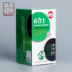 【计生用品】倍力乐 巅峰6合1 24只装避孕套