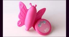 【女用器具】INS与爱共舞之隐形情人双震硅胶无线摇控蝴蝶