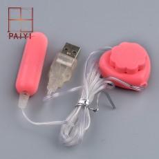 【女用器具】跳蛋_USB长跳 遥控自慰器