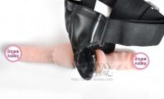 【女用器具】百乐 穿戴双响炮 女用 性爱内裤 女同志 同性恋用品