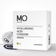 名流MO玻尿酸2只装避孕套超薄安全套男用情趣