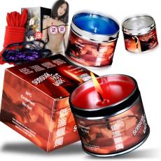 情趣帝臣低温蜡烛130克大盒装 另类玩具香味蜡烛 成人用品批发