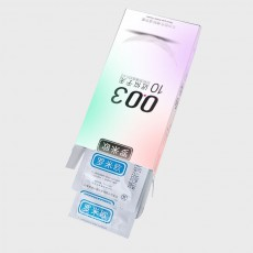 【避孕套】罗米欧超薄003近似于无10只装