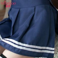 【情趣内衣】蜜恪 学生装 白+蓝 8119