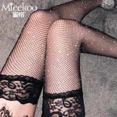 【情趣内衣】蜜恪 烫钻网袜 5200