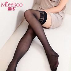 【情趣内衣】蜜恪条纹长筒袜丝袜5195