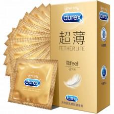 【避孕套】杜蕾斯超薄装3只装12只装