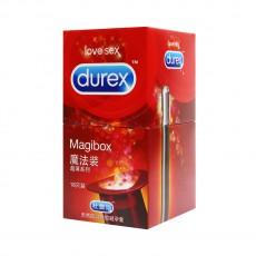 【避孕套】杜蕾斯魔法装情趣超薄避孕套18只装