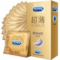 【避孕套】杜蕾斯紧型超薄装12只装