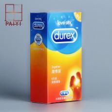 【避孕套】杜蕾斯激情装柔薄润滑3只装12只装