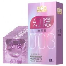 【避孕套】第六感幻隐玻尿酸003 10只装