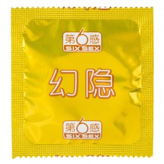 【避孕套】第六感幻隐超薄003 10只装