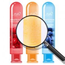 【情趣用品】热恋润滑液草莓味/蓝莓味/水蜜桃味/鲜橙味/樱桃味80g