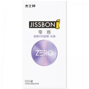 【避孕套】杰士邦ZERO零感超薄沁薄3/6/12只装