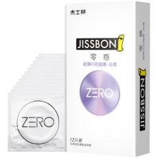 【避孕套】杰士邦ZERO零感超薄沁薄6/12只装