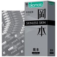 【避孕套】冈本SKIN系列质感超薄10只装