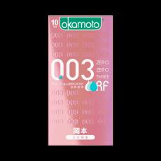 【避孕套】冈本0.03系列 贴身超滑10只装