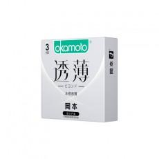 【避孕套】冈本透薄系列 冰感透薄3只装