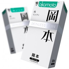 【避孕套】冈本SKIN系列纯10只装