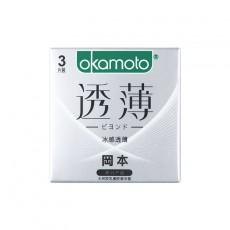 【避孕套】冈本透薄系列冰感透薄3只装