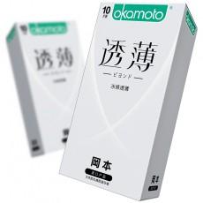 【避孕套】冈本透薄系列冰感透薄10只装