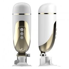 【男用器具】取悦放释飞机杯吸盘电动款