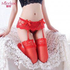 【情趣内衣】蜜恪 吊袜带含袜 4407