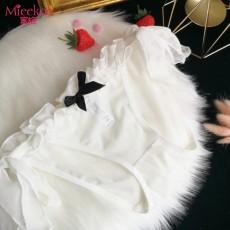 【情趣内衣】蜜恪 日系洛丽塔全蕾丝绑带内裤 2200
