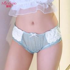 【情趣内衣】蜜恪 甜美蕾丝网纱内裤 2191