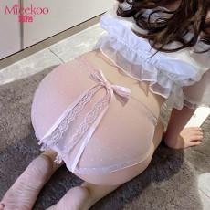 【情趣内衣】蜜恪 蝴蝶结蕾丝内裤 2190