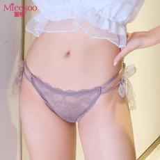 【情趣内衣】蜜恪 系带蕾丝性感一片式内裤 2194