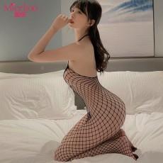 【情趣内衣】蜜恪 连体袜 6216