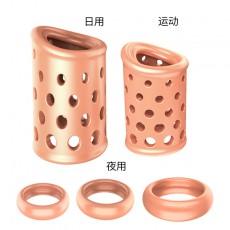【情趣用品】取悦包皮阻复环套装(透气型)