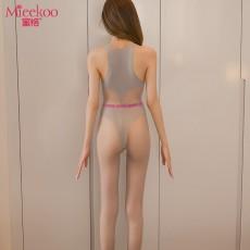【情趣内衣】蜜恪提花丝袜连体衣 6041