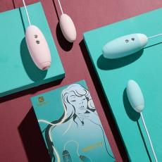 【女用器具】KissToy MISS VV脉动吮吸双震多频吸震情趣跳蛋女用自慰器具