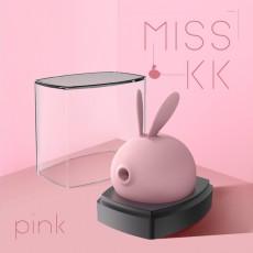 【女用器具】情创KISTOY MISS KK萌兔吸力跳蛋夫妻调情情趣用品一件代发