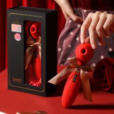 【女用器具】KISS TOY 伊丽莎白Elizabeth吮吸震动器成人用品女性自慰器具新款