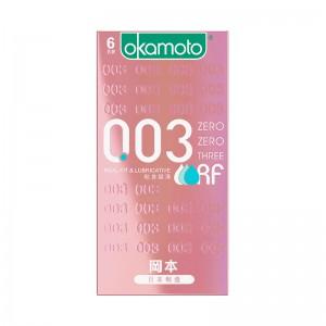 【避孕套】冈本0.03系列 贴身超滑6只装